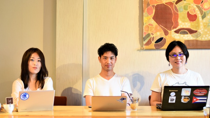 セミナー講師3人